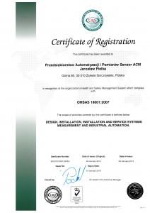 cert OHSAS 18001 ENG