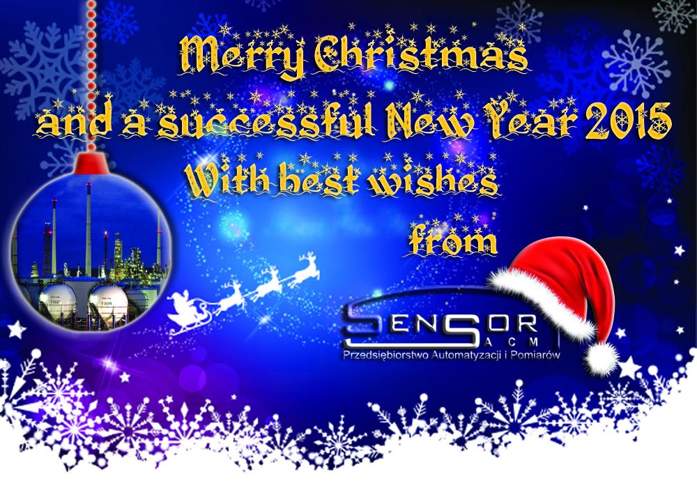 christmas greetings sensor-acm