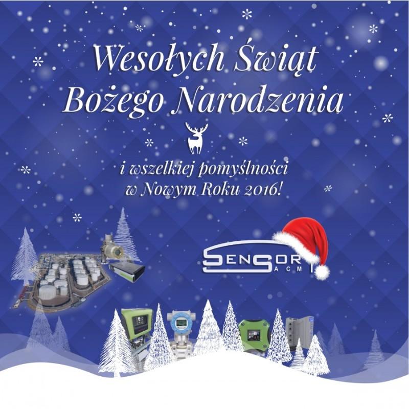 Wesołych Świąt - SENSOR-ACM